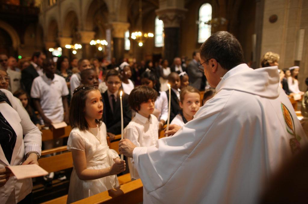 première communion,