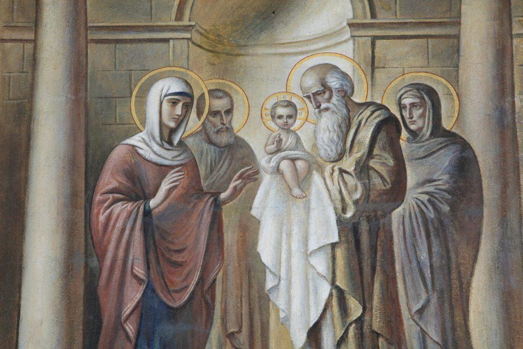 chandeleur présentation de Jésus au temple