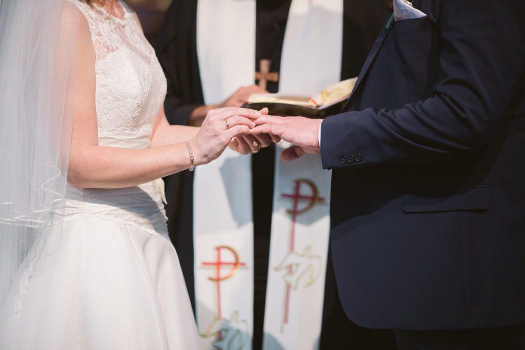 mariage catholique à l'église